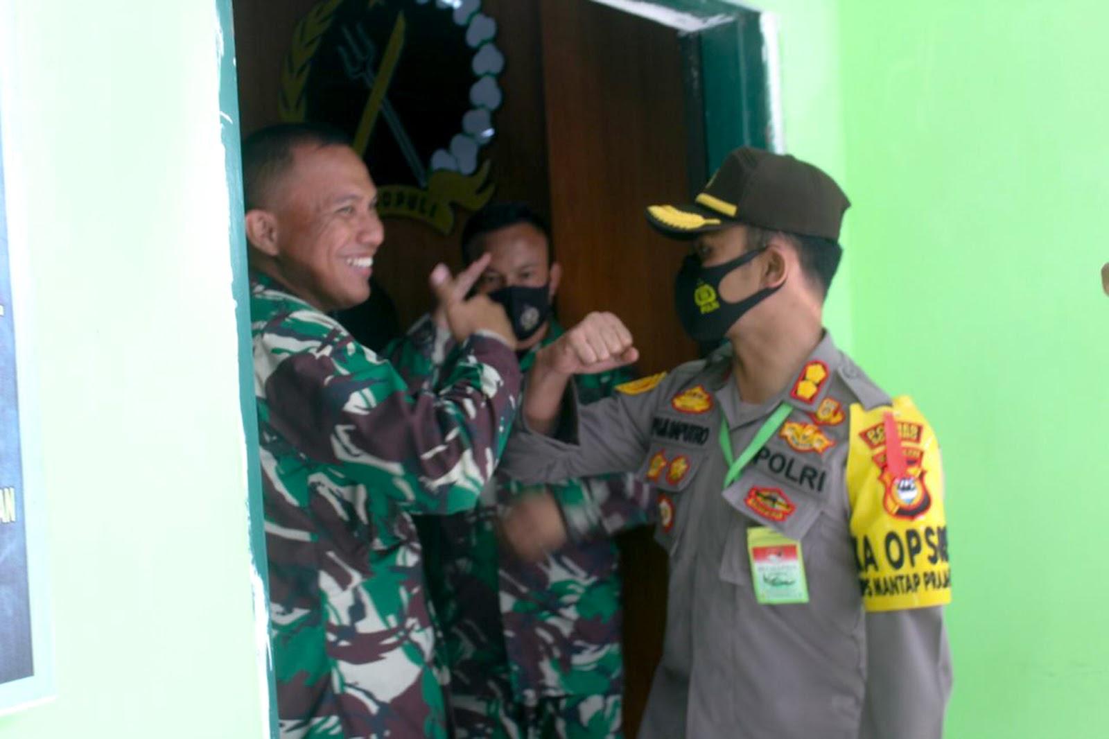 Luar Biasa, Soliditas dan Sinergitas Polres Soppeng Di Hut TNI Ke-75