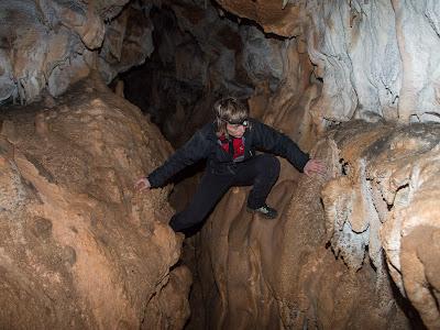 Tram interior de la cova de la Moneda