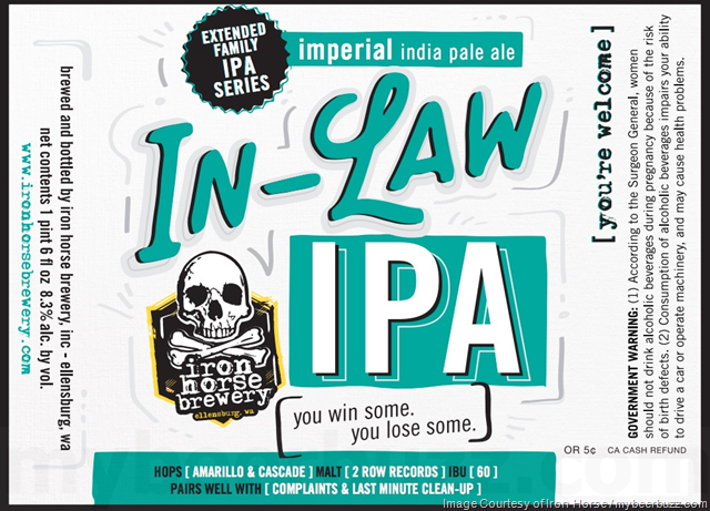 Iron Horse Brewery - In-Law IPA