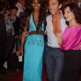 WWW.ENTSIMAGES.COM -  Sinitta, Bruno Tonioli and Arlene Phillips in a playful mood   at    WAG! The Musical - press night at Charing Cross Theatre, The Arches, Villiers Street, London July 24th 2013                                                 Photo Mobis Photos/OIC 0203 174 1069