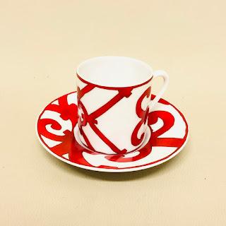 Hermès Coffee Cup & Saucer