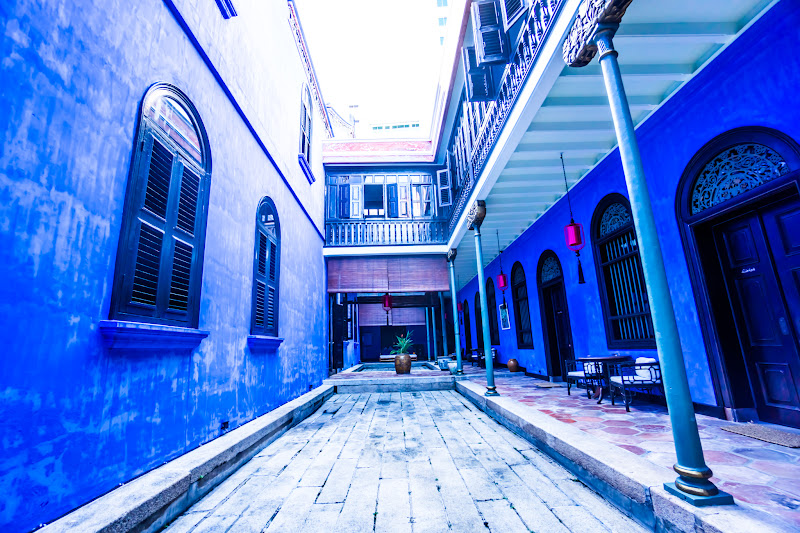 Penang Cheong Fatt Tze Mansion (Blue Mansion) hallway7