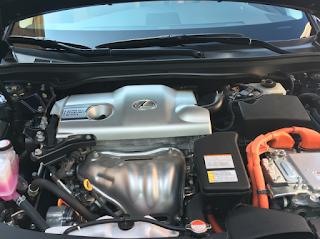2017 Lexus ES300h hybrid
