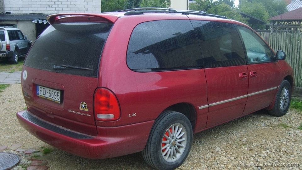 2000 Chrysler Town And Country Minivan Specifications