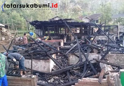 Kebakaran Melanda 4 Rumah di Sukabumi, 1 Korban Tewas Terbakar