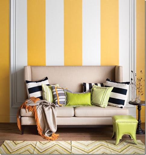 Amato Decorare le pareti con strisce dipinte - Case e Interni XU83