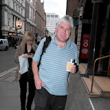 WWW.ENTSIMAGES.COM - Keith ( Wildman ) Owen walking past    The Perfect American - press night at Coliseum, St Martin's Lane, London, June 1st 2013  Photo Mobis Photos/OIC 0203 174 1069