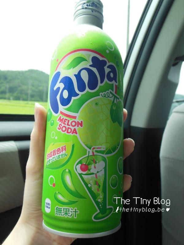 Melon Fanta in Fukushima