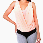 Vibrant-stretchy-bodysuit-blouse-orange-front.jpg