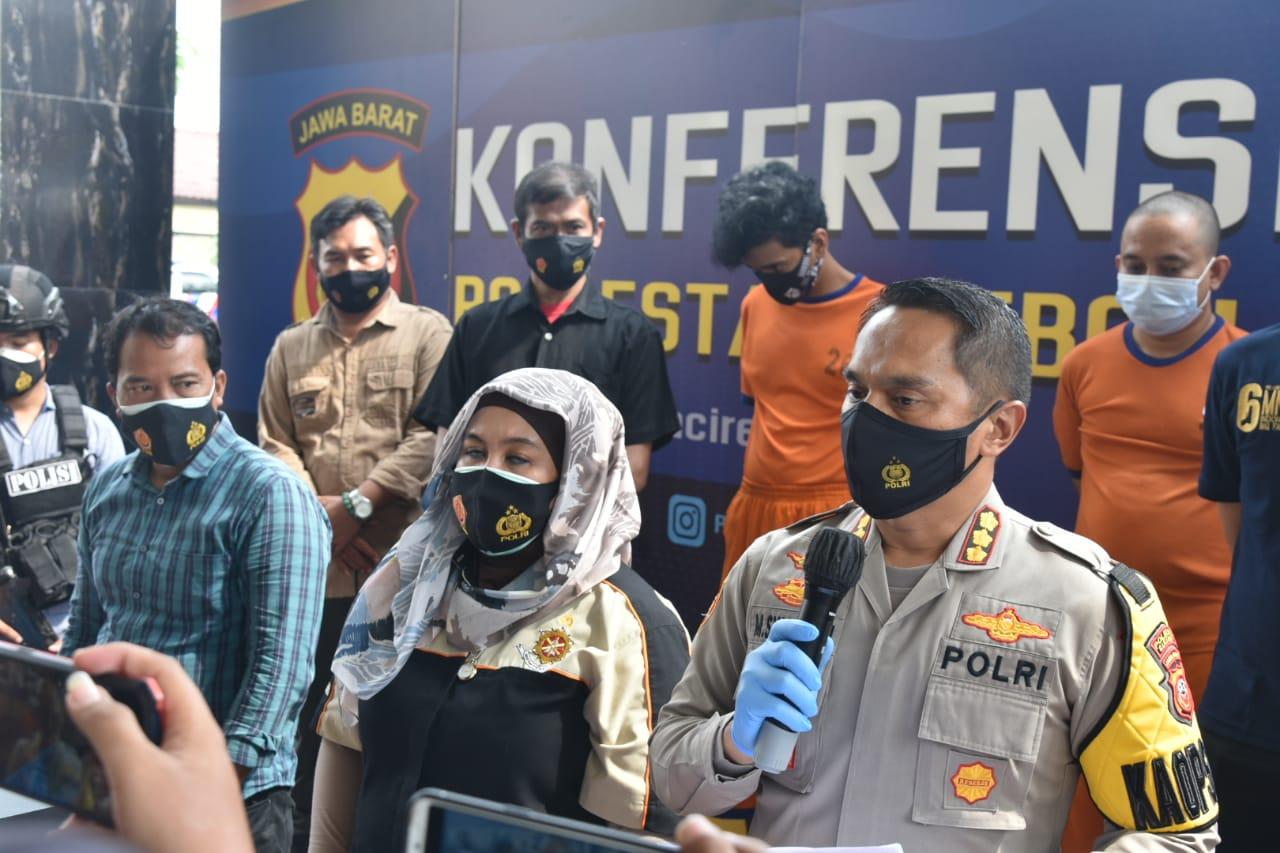 Polresta Cirebon Polda Jabar Tangkap Anak Punk yang Aniaya Anggota Ormas hingga Meninggal Dunia