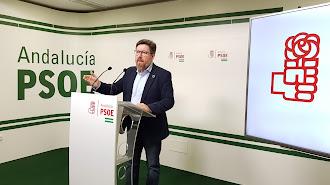 Rodrigo Sánchez, este sábado en Almería.