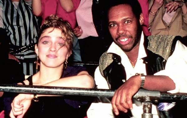 Madonna con Nile Rodgers