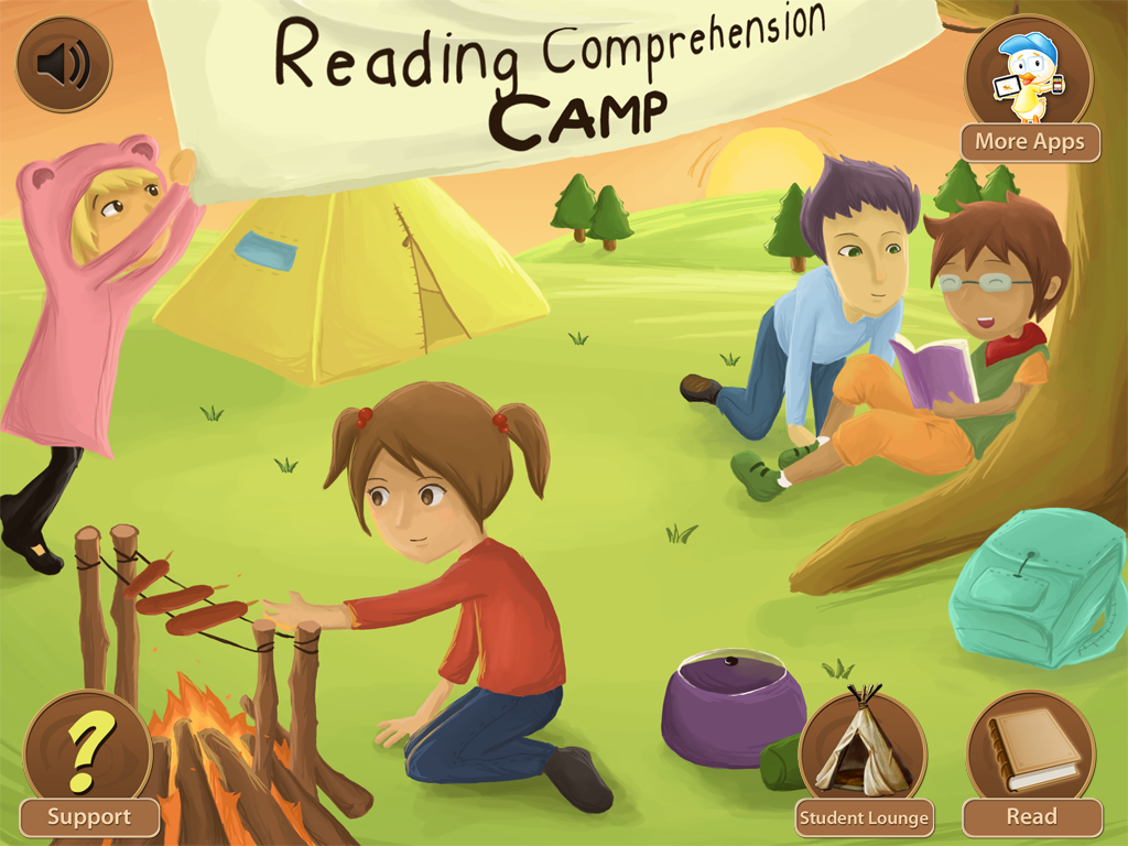 Reading Comprehension Camp Main Page