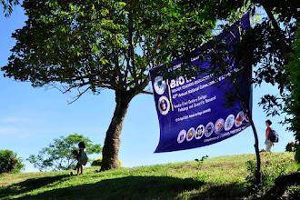 Photo: BIOTA tarpaulin at Consocep Mountain Resort
