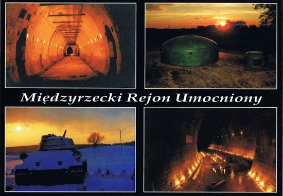 międzyrzecki rejon umocniony -  pocztówka