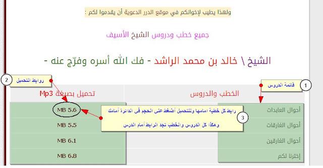 حمل أكثر من 150 خطبة ودرس مؤثر للشيخ خالد الراشد - Mp3 - روابط مباشرة