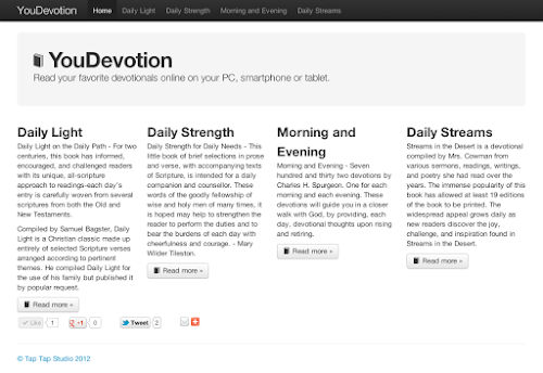 YouDevotion.com website