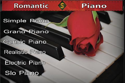 Romantic Piano screenshot 1