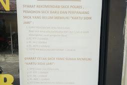 Ini Prosedur Mengurus Surat Catatan Kepolisian (SKCK)