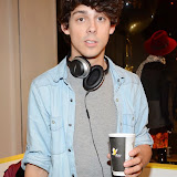 WWW.ENTSIMAGES.COM -    Matt Richardson  at      Whistle and  Bango  launch party at Wolf and Badger, London October 23rd 2014Ashley James, Ania Kubow and Rosie Parkes are showcasing their new brand and bracelets at a celebrity studded press launch                                                 Photo Mobis Photos/OIC 0203 174 1069