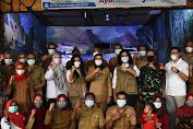 Tim Pakar Satgas Penanganan COVID-19 Nasional Pantau Prokes di Indramayu