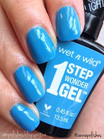 A M Polishes Wet N Wild 1 Step Wonder Gel Polish
