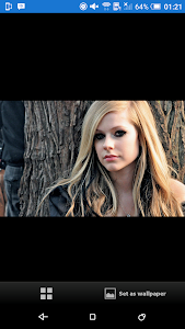Avril Lavigne Wallpaper screenshot 1