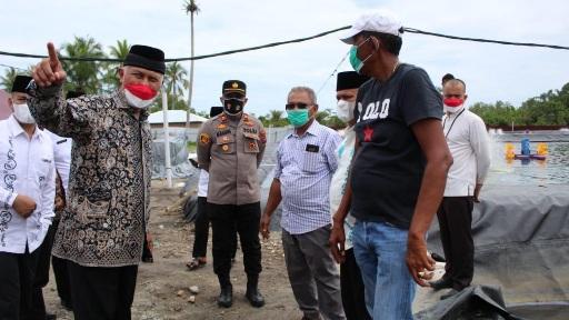 Gubernur: Prospek Tambak Udang Harus Diiringi dengan Kepedulian Lingkungan