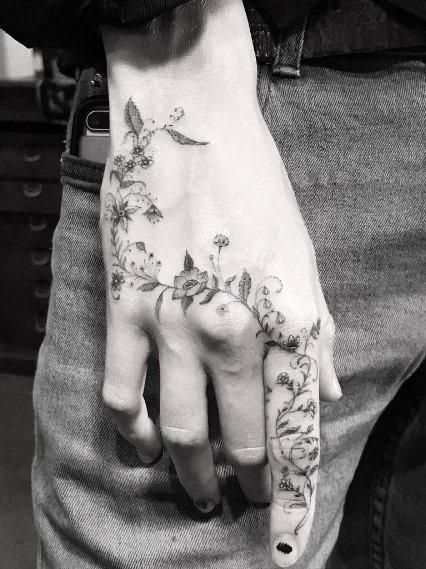 este_floral_peça_de_mo