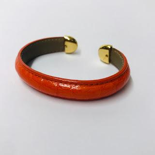 Jean Rousseau Neptune Alligator Bracelet
