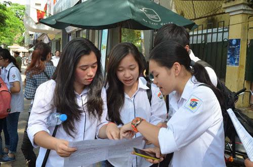 Kỳ thi chung quốc gia: Học sinh theo khối A, B lo thiệt - 1