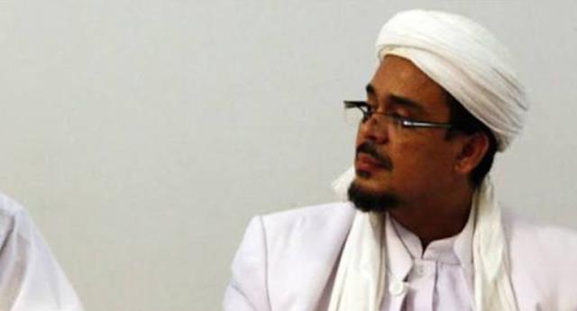Habib rizieq siap menerima tantangan debat boni hargens soeararakjat.com