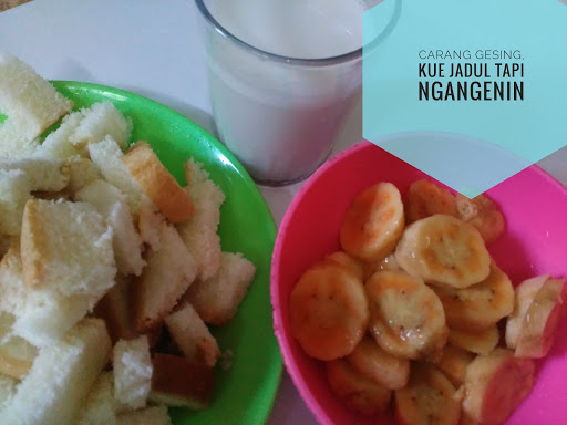 Carang Gesing, Kue Tradisional Jadul tapi Ngangenin