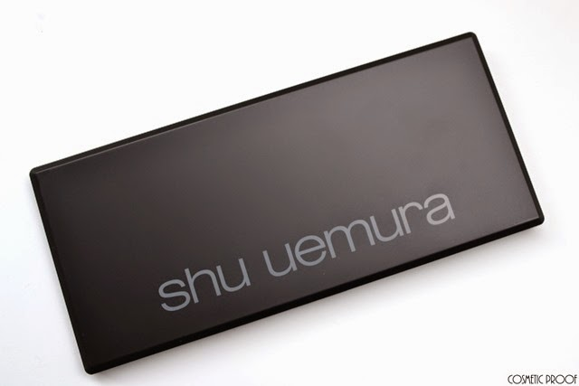 shu uemura 16 shades of nude eyeshadow palette swatches review