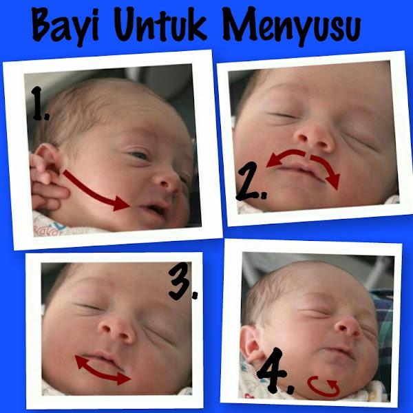 Pijatan Bayi Untuk Menstimulasi Bayi Menyusu