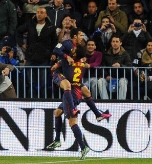 Resultado del partido Málaga vs Barcelona (Copa del rey)