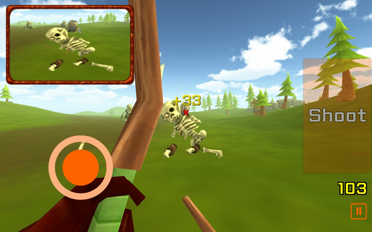 The Archer: Zombie Hunt- screenshot