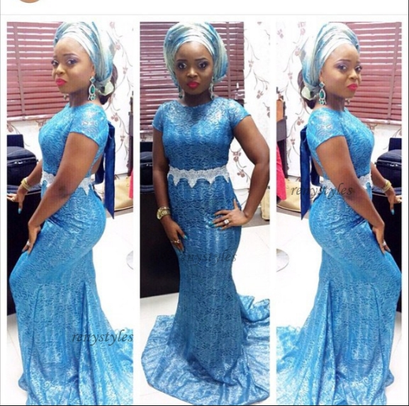Aso Ebi Styles Slayed for Weekend