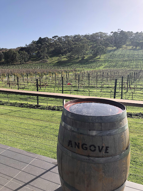 Angove winery in McLaren Vale has a great range of wines including some organic options.
