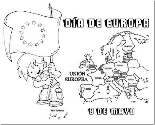 DÍA DE EUROPA1 BLOGCOLOREAR 1