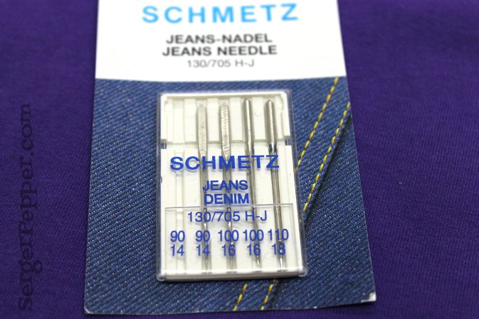Serger Pepper - Sewing Denim like a Pro - Jeans Needles