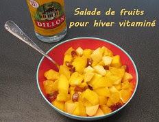 Salade de fruits pour hiver vitaminé