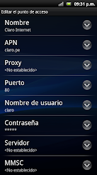 ANDROID APN