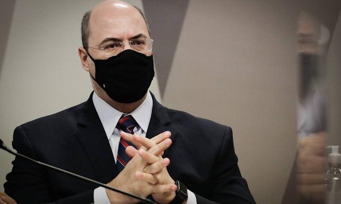 'Intimidação' de Flávio Bolsonaro contra Witzel na CPI