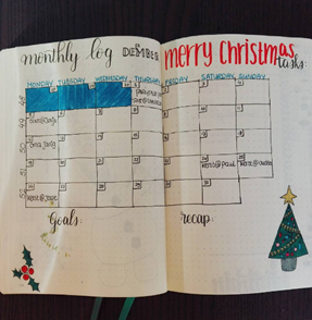 Monthly log decembers