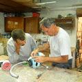 Ken working in Jordan