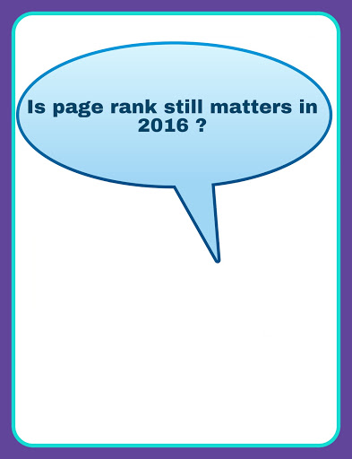 is page rank still matters