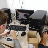 2018-01-22 Els alumnes de 1SMIX comencen a treballar amb la Raspberry