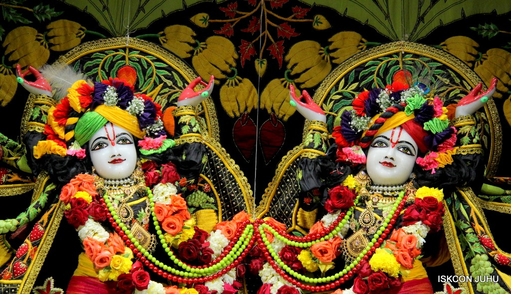 ISKCON Juhu Sringar Deity Darshan on 31st Dec 2016 (42)