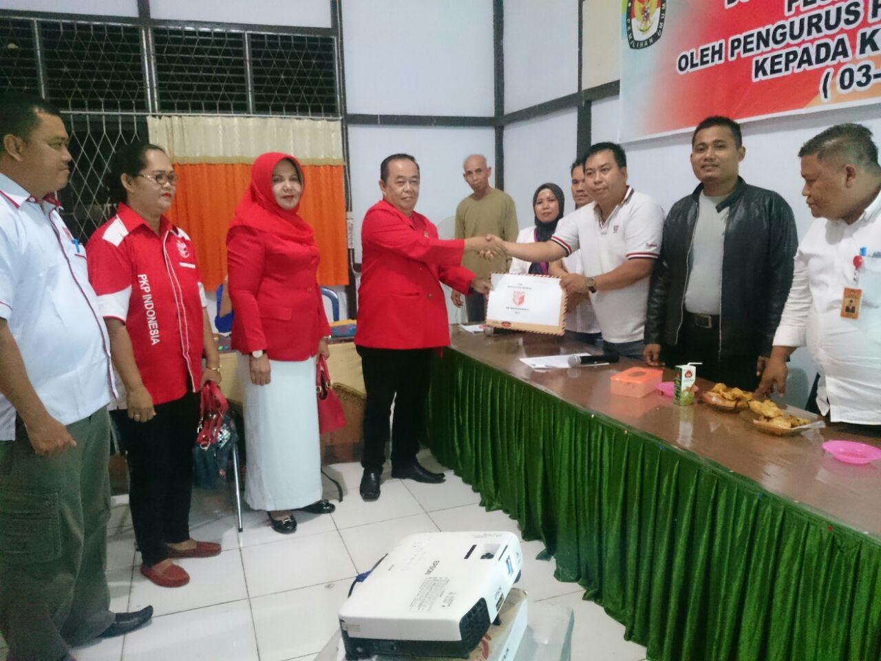 Daftar Ke KPUD Partai PKPI Siap Berkompetisi Di Pemilu 2019
